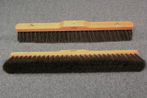 Værkstedskost 65cm m/Arenga fiber. Olieret bøgetræ