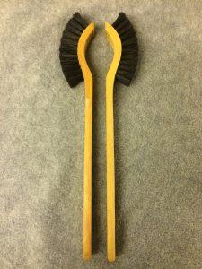 Opvaskebørste Kamelryg 225 m/ sorte hestehalehår 28 cm