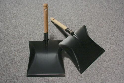 Fejebakke 90 olieret skaf / sort metalbakke 40 cm