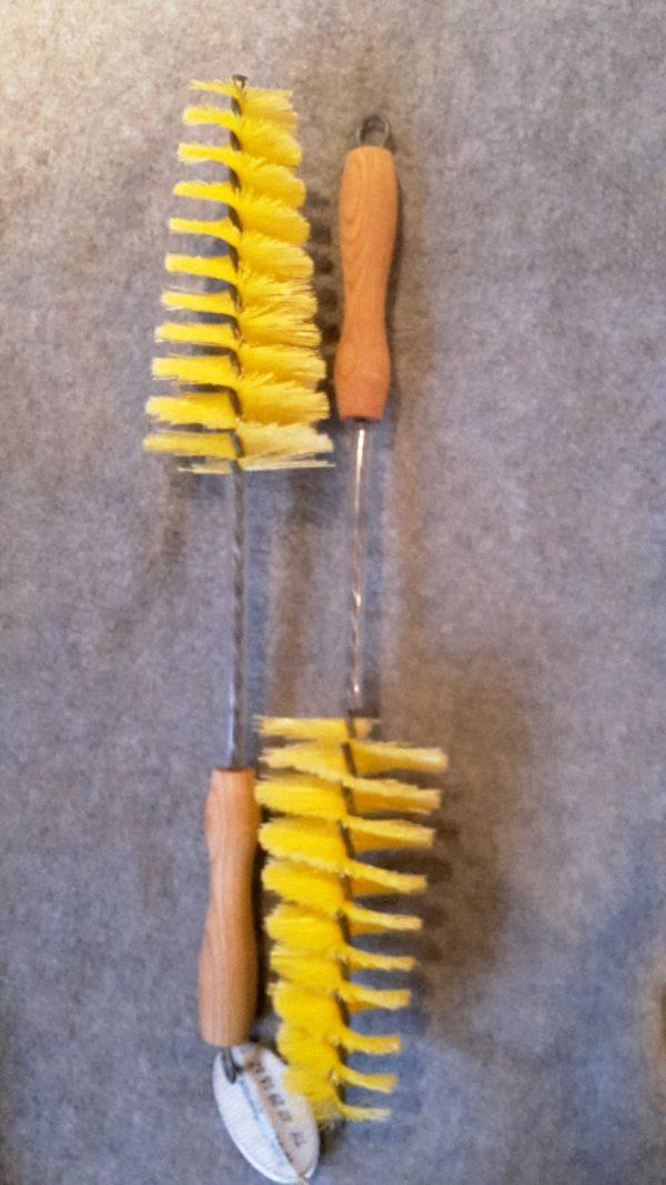 Fælgrenser 85 m/ Rilsan(nylon) galvaniseret tråd og håndtag